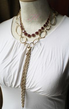 """Work It Necklace with Indulgence Necklace """"Y""""! No need to look any further this is what you want. billn9638@msn.com indulg necklac"""