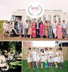 Las bodas hipster, además de modernas, son bonitistas. Algunas ideas de cómo conseguir que tu bodorrio sea el más moderno del mundo mundial