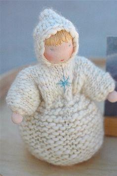 seasons round winter 09 :: winter sprite by waldorf mama, via Flickr