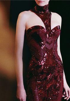 Atelier Versace  f/w 2013-2014 Backstage