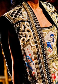 style, cloth, balmain fw, ribbons, fw 2012