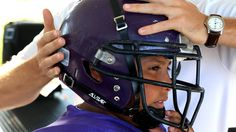 Helmet sensors may help detect concussions in young football players