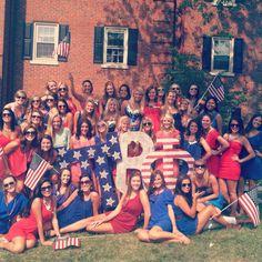 Pi Beta Phi at the University of Kentucky. #bidday #missamerica #sorority #piphi #pibetaphi #angels #america #tsm #arrow