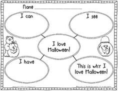HALLOWEEN AND THANKSGIVING WRITING FREEBIE - TeachersPayTeachers.com