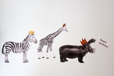 non-related but how cute are these animals with crowns?