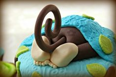 Monkey Bum Cake