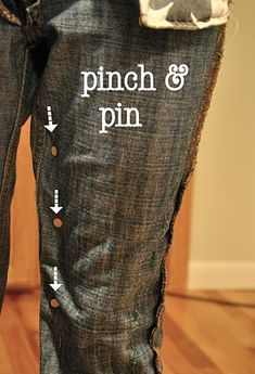How to make jeans smaller or just skinnies!