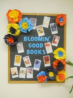 Bloomin' Good Books by vaknigh1, via Flickr #bulletin board