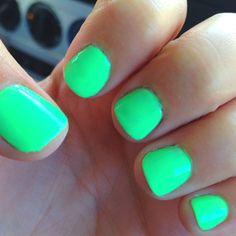 Bright nails!