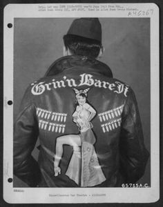 U.S. Air Force personalised bomber jackets, 1939-1945