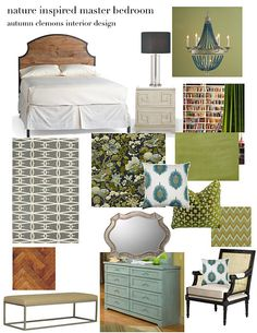 design plan: master bedroom