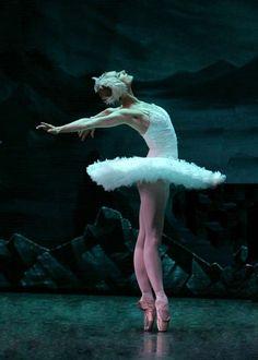 The magic of ballet....swan lake