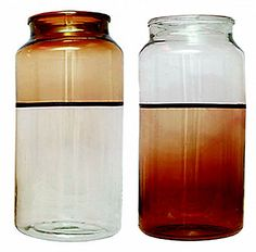 colorblock apothecary jar