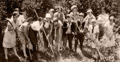 Vintage YW Camps.  It would be fun to do the activities that YW did 100 years ago.