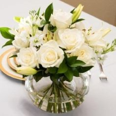 formal table flowers?
