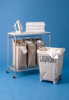 Check out our editors' picks for hardworking, industrial-style laundry bins that streamline your dirty-clothes duty. | Photo: Andrew McCaul | thisoldhouse.com