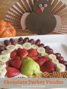 holiday, chocolates, fondue, fruit platters, dessert tabl, fruit turkey, chocol turkey, thanksgiving treats, fruit trays