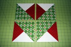 So much easier than it looks!  Would make a great border, too.