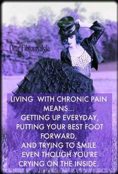 .Living with chronic pain