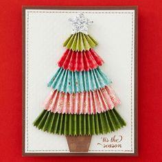 Homemade Christmas Tree Card