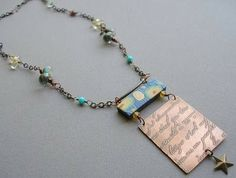 Another Necklace using Van Gogh Series Spacer Bar Bead in an entirely different way - By Lorelei Eurto - Customer Gallery Inspiration at Humblebeads Blog