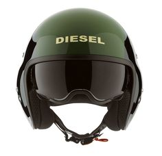 Diesel Hi-Jack Helmet, of course any helmet must be tried on first to make sure that they are a proper fit.