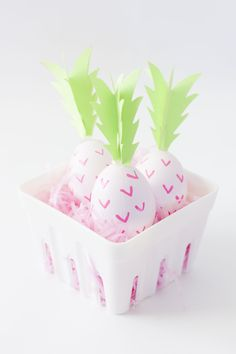 DIY PINK PINEAPPLE E