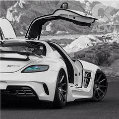 Wicked Mercedes SLS AMG
