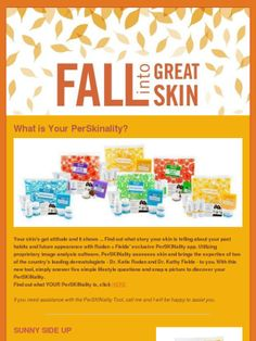 Check out my FALL 2012 Rodan and Fields newsletter!  #perSKINality