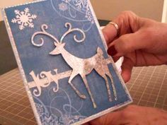 Cricut Winter Woodland Christmas Card