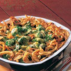 cheddar and broccoli bake
