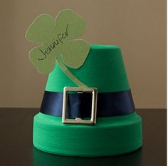 Cute St. Patricks Day craft.
