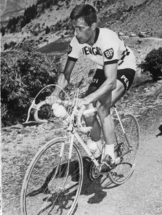 4 July 1964: British cyclist competes in the Tour de France three years before he died of heat exhaustion in the same race.