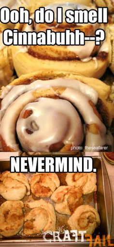 cinnabon copycat recipe... fail
