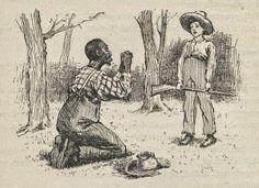 essays on huckleberry finn conscience