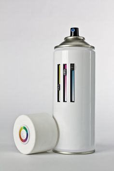 Adjust-able color spray can