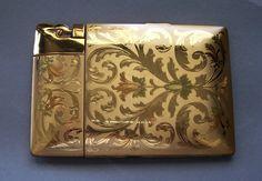 ELGIN AMERICAN vintage Cigarette Case Lighter