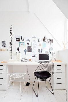 Office Space /  via Mila loveology
