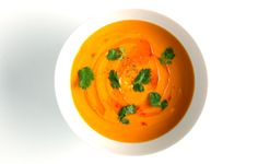 Carrot-Coconut Soup - Bon Appétit