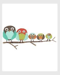 owls - just loving owls