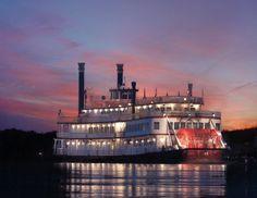 BB Riverboats on the Ohio River in Cincinnati USA