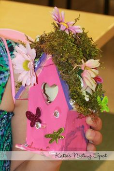 Katie's Nesting Spot: Our Fairy House 7th Birthday Party at Jo-Ann Fabric & Craft Stores