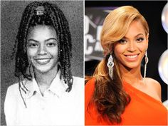 Beyonce Celebrity Yearbook Photos
