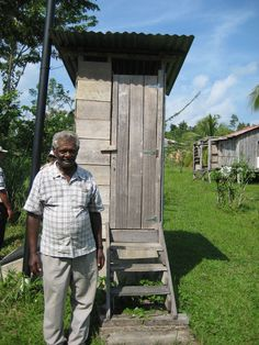 Composting latrine in Belize. Submitted by Renée Johnson, Sustainable Harvest International.