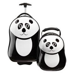 Panda Suitcase (Cutest Luggage Ever!) $89.99