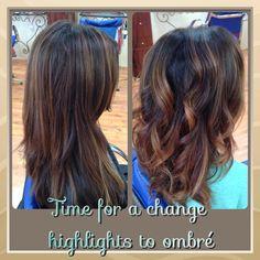Carmel highlights to Ombré