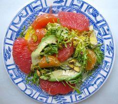 Mixed Citrus Pistachio and Avocado Salad  #Paleo #PaleoHunt #Crossfit