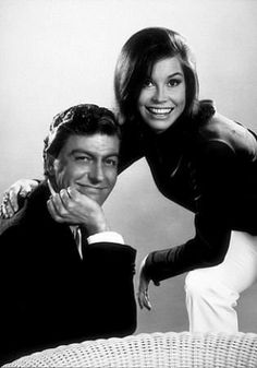 They were adorable then, and they are still cute now.  Dick Van Dyke and Mary Tyler Moore