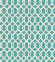 Home Decor Upholstery Fabric-Waverly Ellis / Turquoise, , hi-res