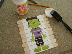 how to... Popsicle puzzles!